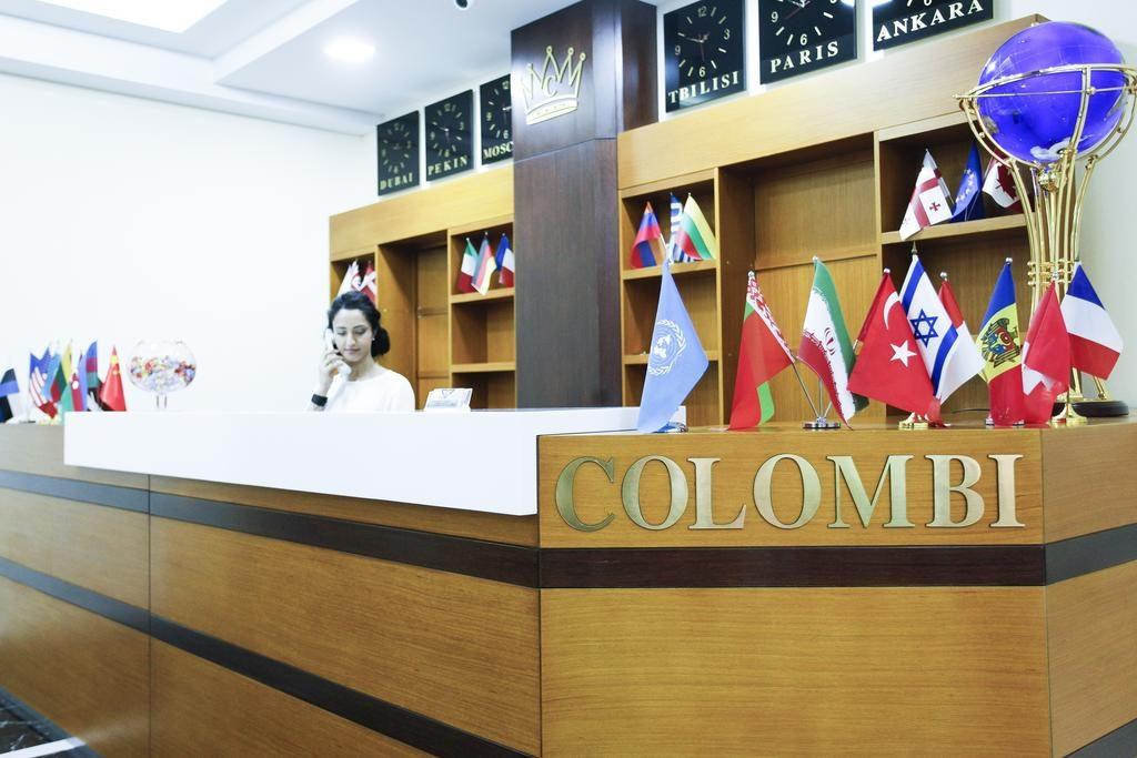 پذیرش هتل کلمبی Colombi تفلیس