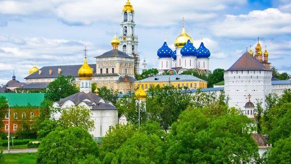 صومعه سرگییف پوساد روسیه