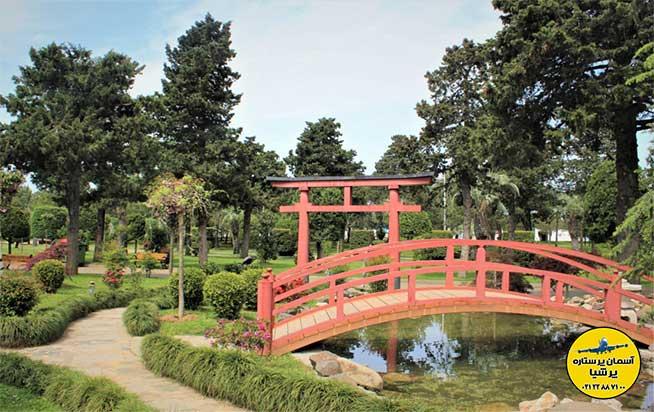 باغ ژاپنی بلوار باتومی گرجستان
