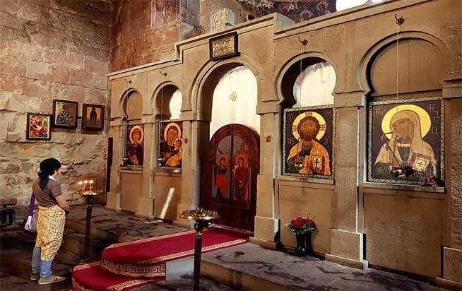 بنای کلیسای آنچیسخاتی باسیلیکای تفلیس
