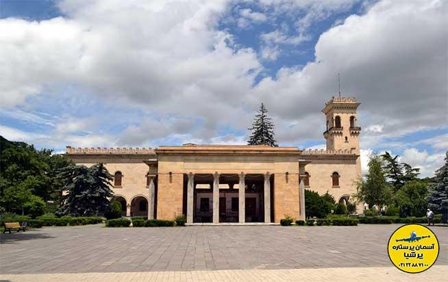 تاریخچه موزه استالین گوری گرجستان