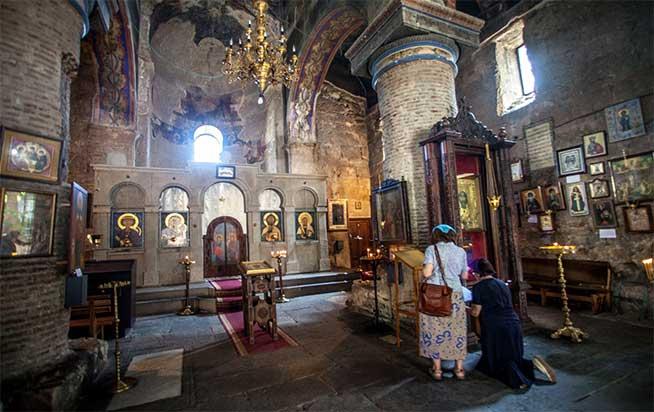 تاریخچه کلیسای آنچیسخاتی باسیلیکای تفلیس