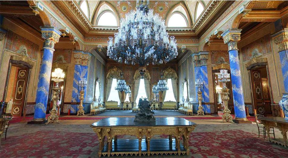 تالار آبی حرمسرای کاخ