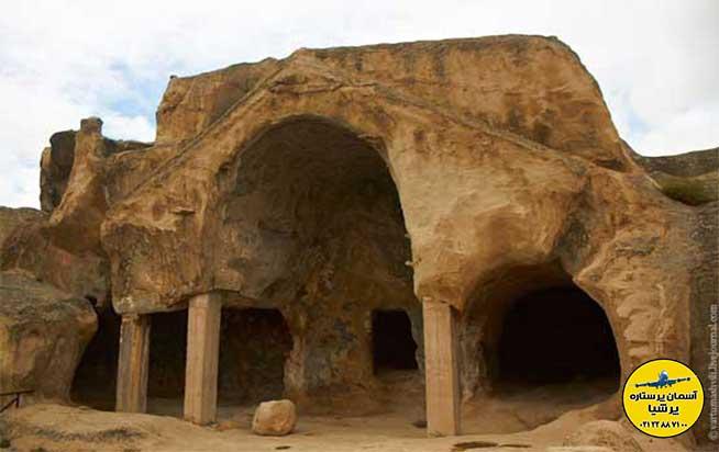 جبهه های جلویی غارها