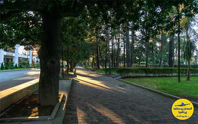 خیابان ماگنولیاها بلوار باتومی گرجستان