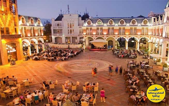رستوران های میدان پیازا