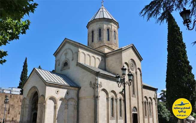 طراحی بنا کلیسای کاشوتی گرجستان