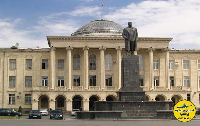 مجسمه ها و تندیس های موزه استالین گوری گرجستان