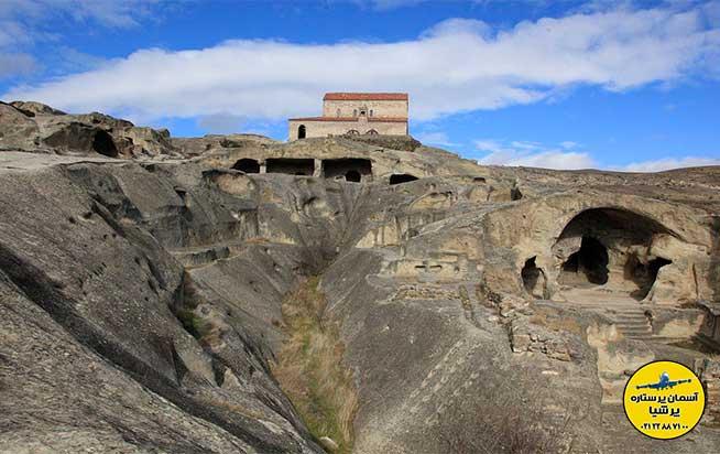 معماری شهر سنگی اوپلیستیخه گرجستان