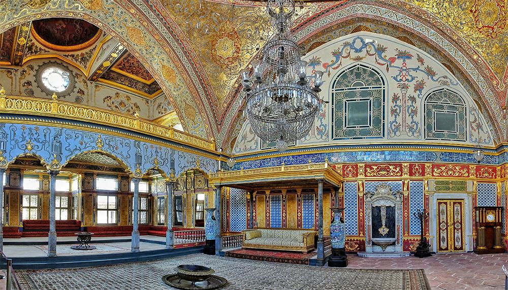 معماری کاخ توپکاپی