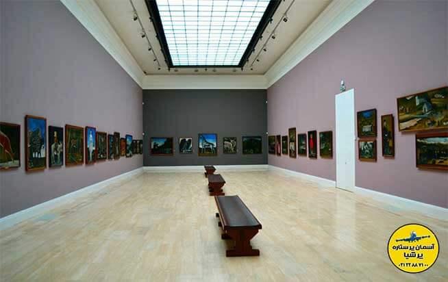 موزه ی گالری ملی تفلیس گرجستان به نام دی. شواردنادزه