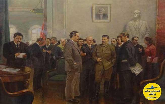 نقاشی های موزه استالین گوری گرجستان