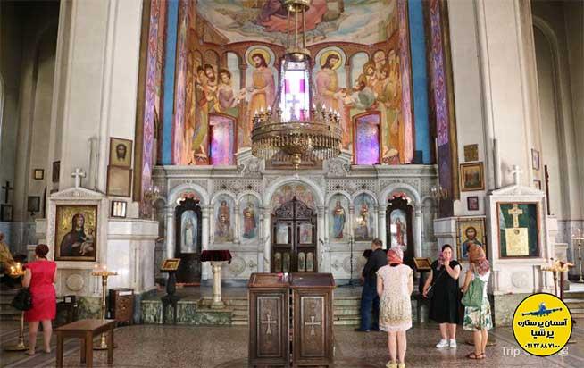 وجه تسمیه کلیسا کاشوتی تفلیس گرجستان