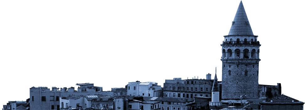 معماری برج گالاتا در استانبول