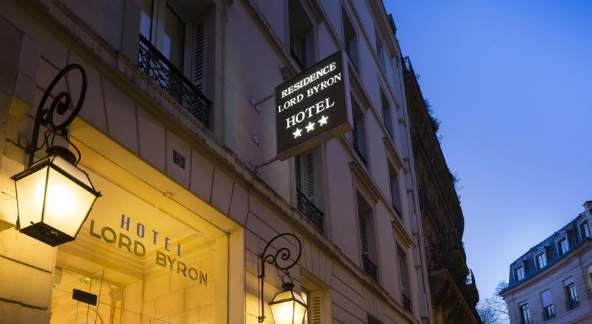 LORD BYRON PARIS