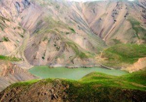 دریاچه چشمه سبز گلمکان مشهد