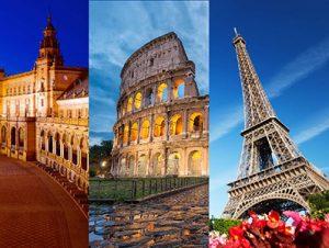 تور فرانسه و اسپانیا نوروز 98