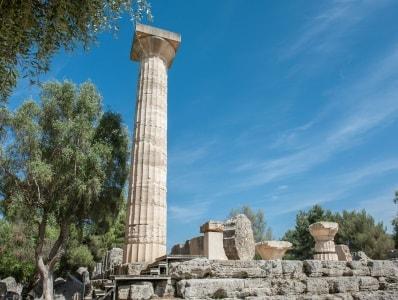 معبد زئوس یونان