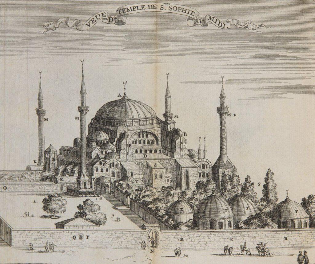 تاریخچه ای در خصوص مسجد ایاصوفیه