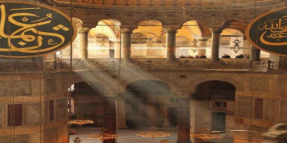 قسمت های مختلف مسجد