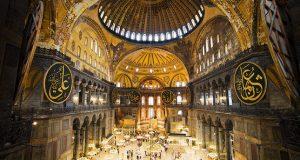 معماری مسجد ایاصوفیه