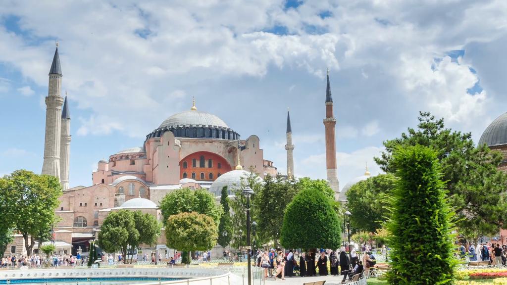 موقعیت مسجد ایاصوفیه