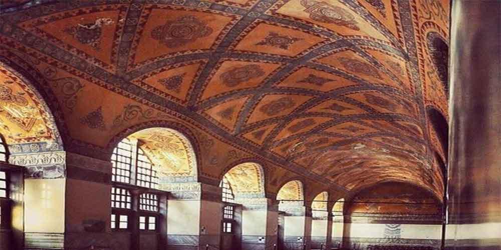 کاشی کاری های مسجد