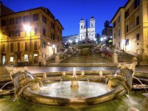پلکان اسپانیایی رم