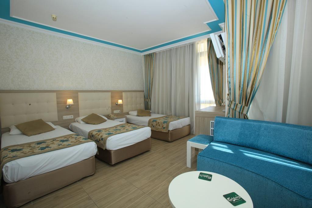 اتاق های هتل سندر Cender آنتالیا