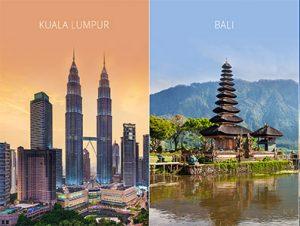 تور کوالالامپور و بالی