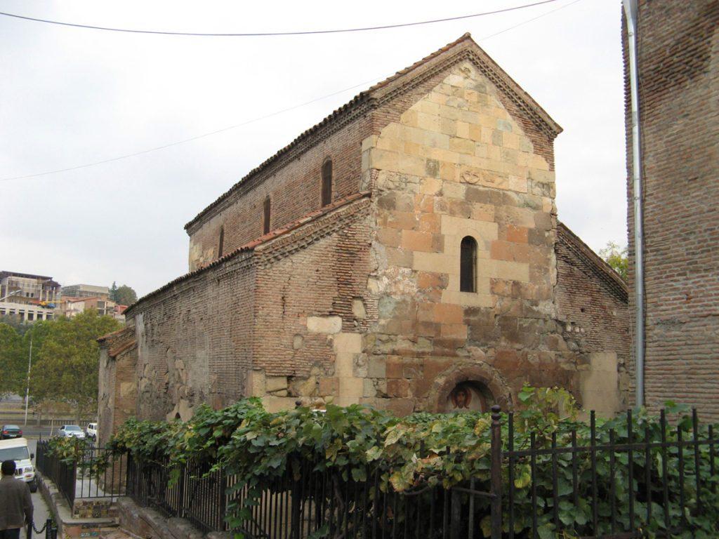 درباره کلیسای Anchiskhati شهر تفلیس