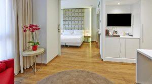 اتاق های هتل NH Collection Barcelona Podium