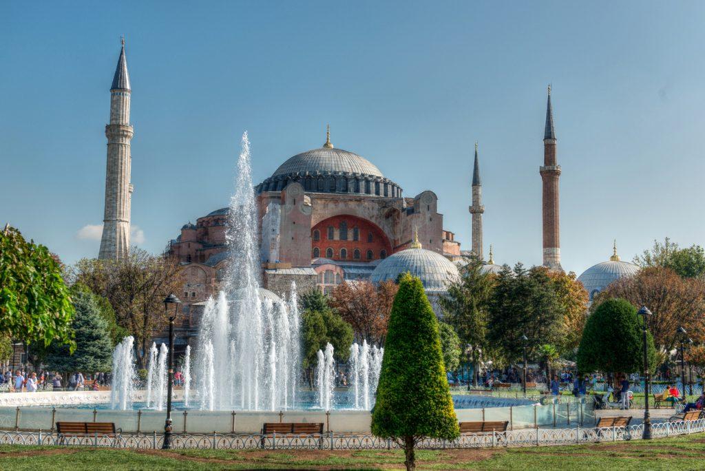 ایا صوفیه یک مسجد زیبا در استانبول