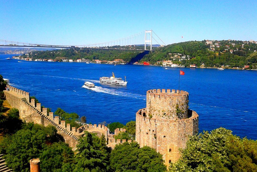 دسترسی محلی به قلعه روملی حصاری