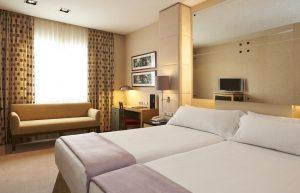 واحدهای هتل NH Hesperia