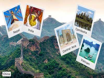 تورهای آسیا