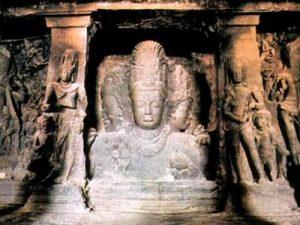 غار فیلها یا غار الفانتا در بمبئی