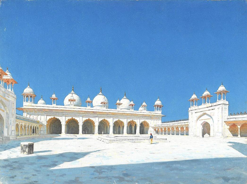 مسجد مطیع آگرا