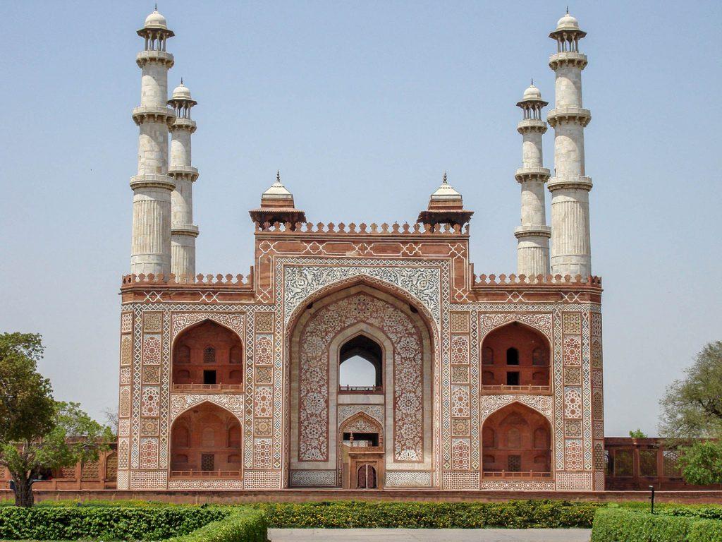 مقبره اکبر شاه آگرا
