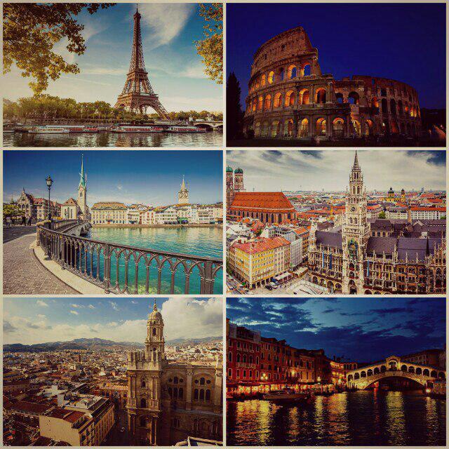 تور دور اروپا 27 روزه