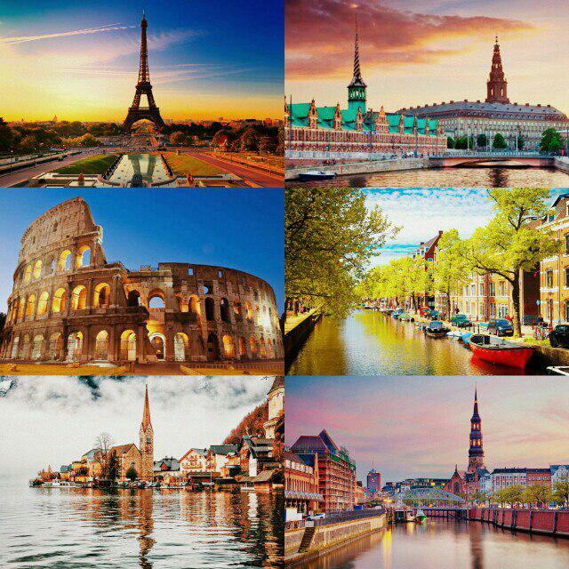 تور دور اروپا 29 روزه