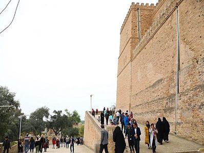 گردشگران نوروزی در خوزستان