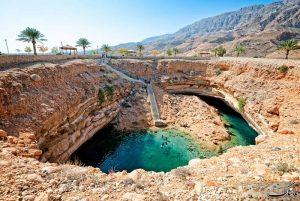 آبگرم های نخل عمان