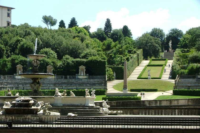 باغ های بوبولی در فلورانس