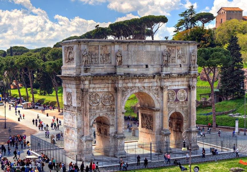 طاق کنستانتین در رم