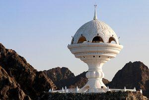 مجسمه کندورسوز عمان