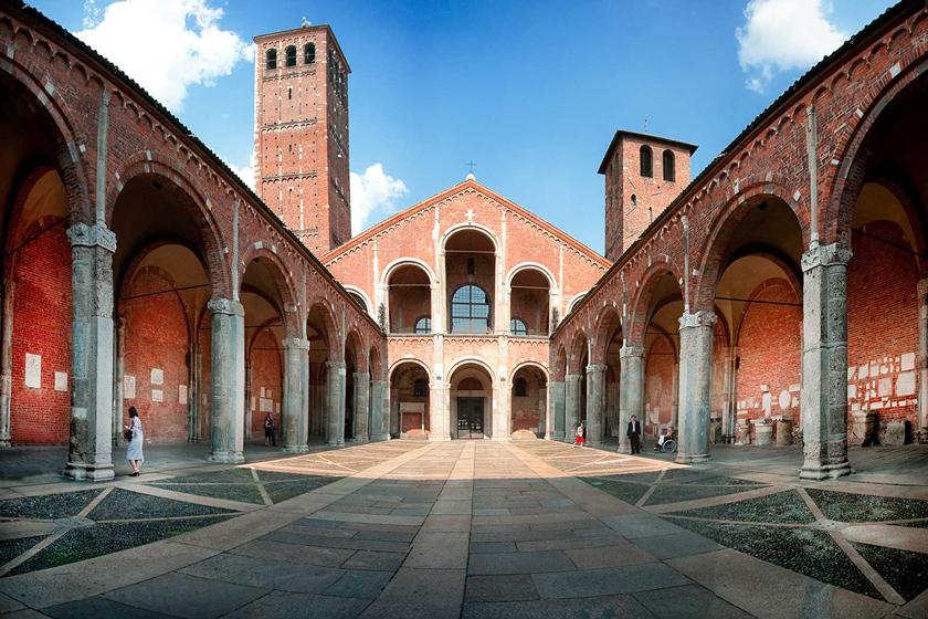 کلیسای آمبروز مقدس در میلان