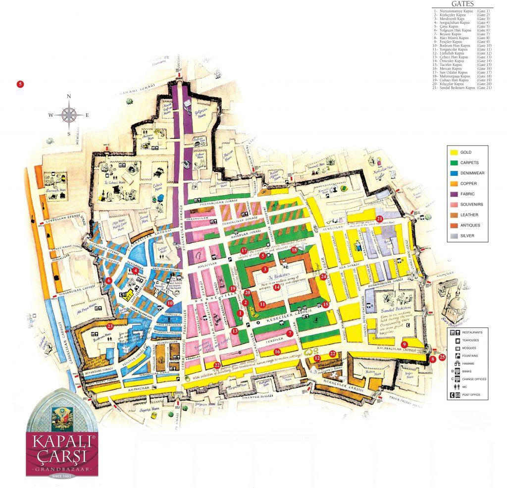 موقعیت جغرافیایی بازار