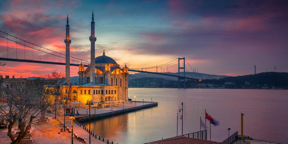 عکاسی از مسجد و تنگه بسفر