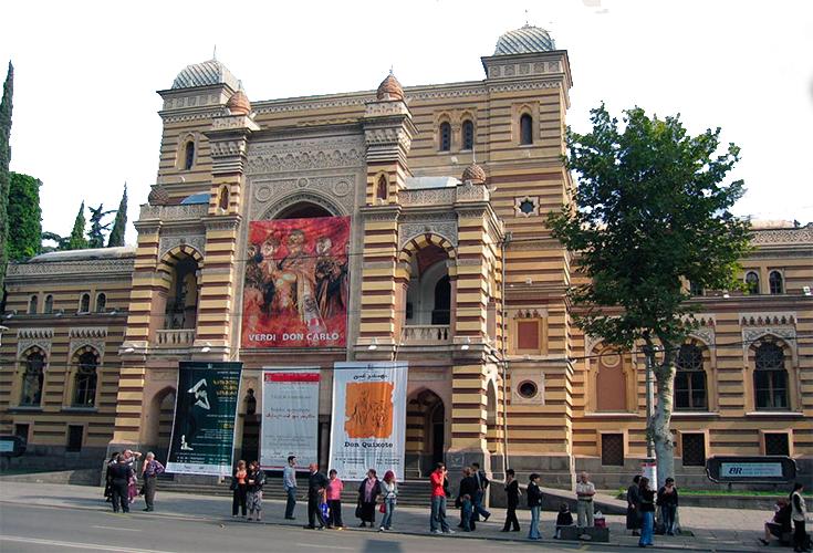 خانه اپرای تفلیس گرجستان
